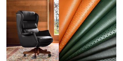 Какой материал обивки лучше для офисного кресла