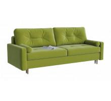 Диван прямой Белфаст green зеленый-велюр