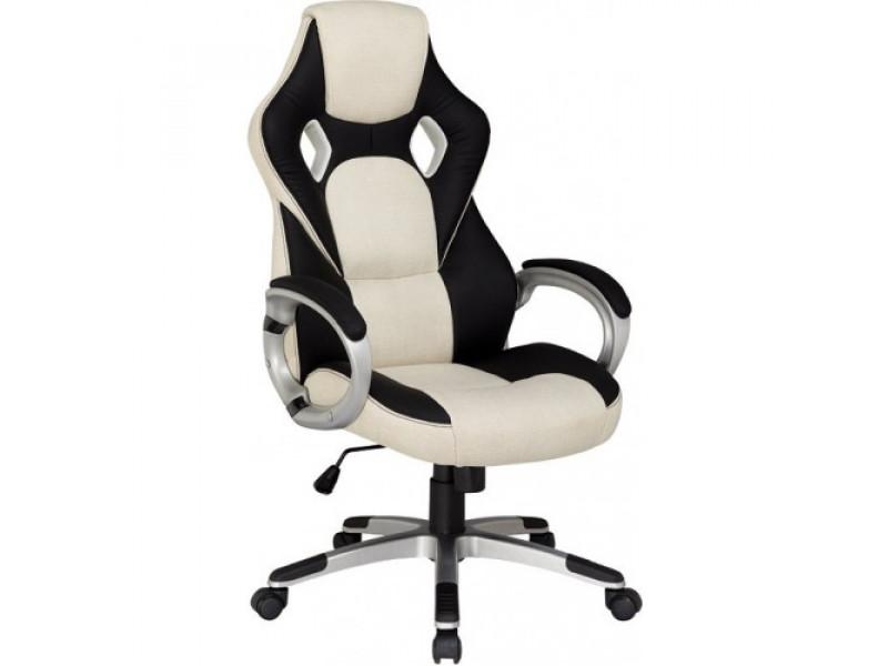 Геймерское кресло RT-372 черно/бежевое