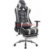 Геймерское кресло RT-6001 черно-белое
