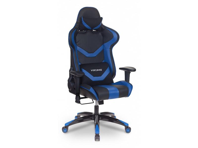 Игровое кресло Бюрократ CH-772N/BL+BLUE синий/черный
