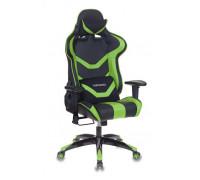 Игровое кресло Бюрократ CH-772N/BL+GREEN зеленый/черный