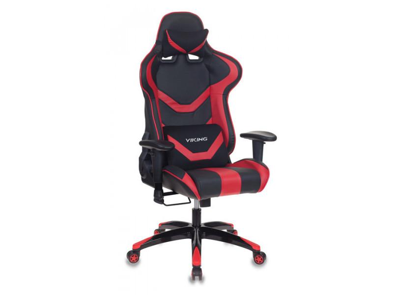 Игровое кресло Бюрократ CH-772N/BL+RED красный/черный