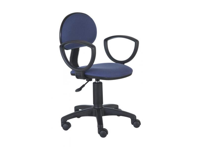 Компьютерное кресло Бюрократ CH-213AXN/PURPLE синий/фиолетовый