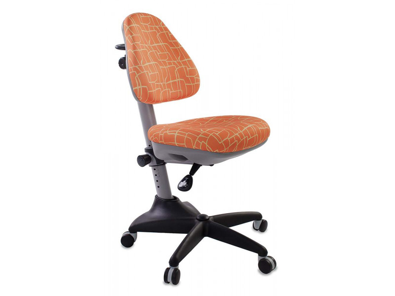 Компьютерное кресло Бюрократ KD-2 GIRAFFE бежевый/оранжевый