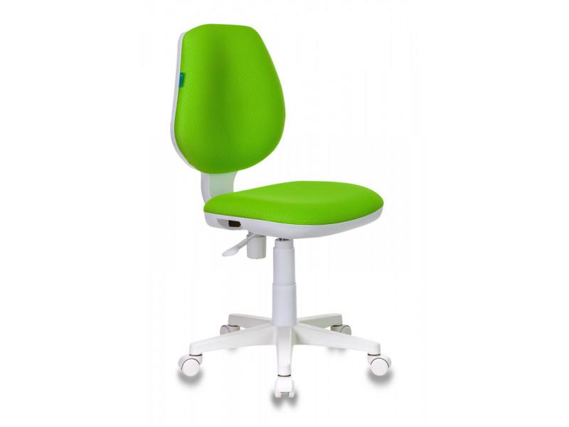 Кресло детское Бюрократ CH-W213/TW-18 салатовый