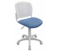 Кресло детское Бюрократ CH-W296NX/26-24 белый/голубой