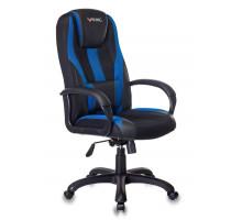 Кресло игровое Бюрократ VIKING-9 черный/синий