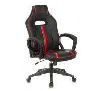 Кресло игровое Бюрократ VIKING ZOMBIE A3 RED черный/красный искусственная кожа