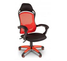 Кресло игровое Chairman Game 12 красный/черный