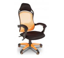 Кресло игровое Chairman Game 12 оранжевый/черный