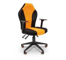 Кресло игровое Game 8 черный/орнжевый