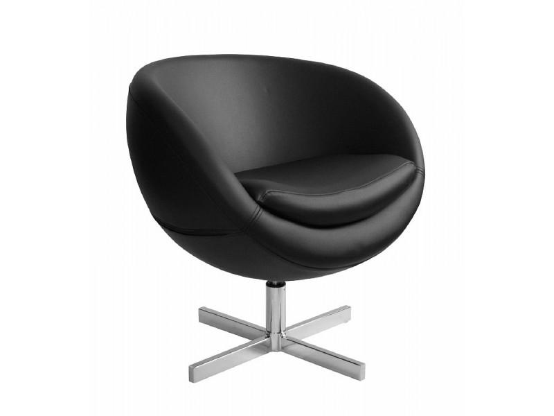Дизайнерское кресло А686 (реплика PLANET6) black PU
