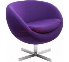 Дизайнерское кресло A686 (реплика PLANET6) фиолетовое