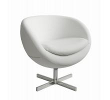 Дизайнерское кресло A686 (реплика PLANET6) white PU