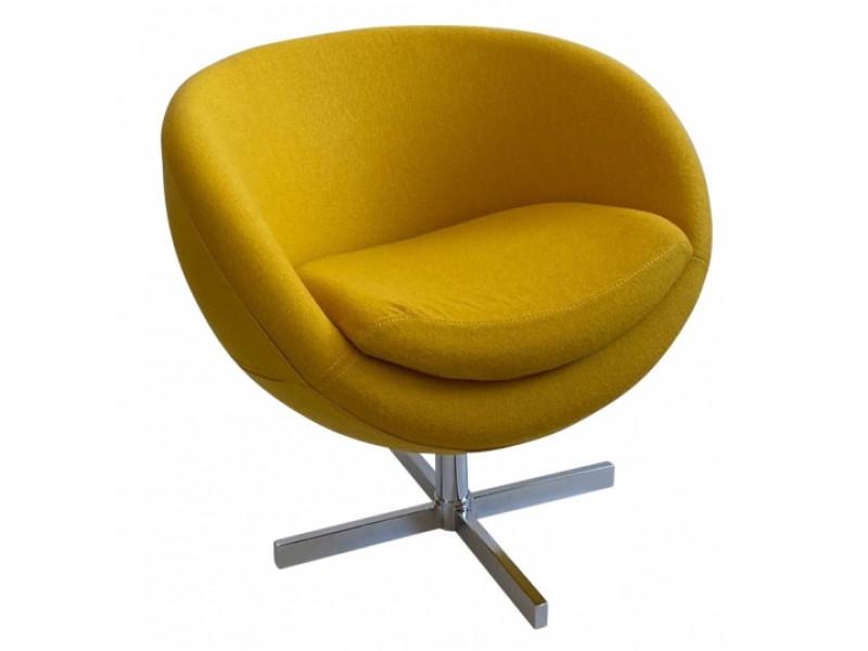 Дизайнерское кресло A686 (реплика PLANET6) желтое