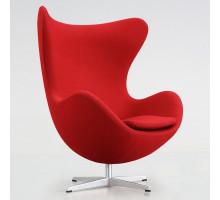 Дизайнерское кресло Egg chair (Arne Jacobsen Style) A219 red