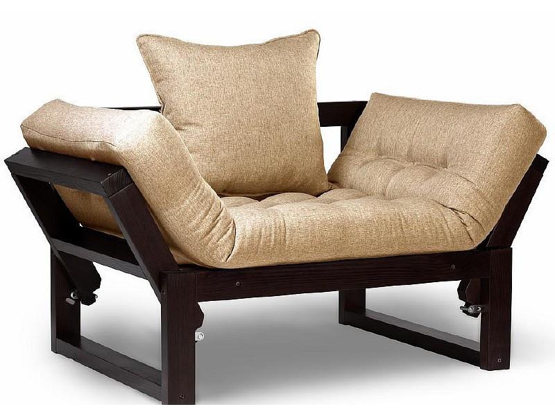 Кресло Амбер венге бежевый сосна