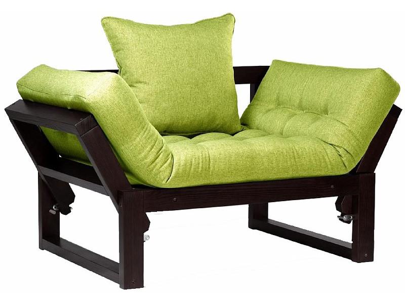 Кресло Амбер венге зеленый сосна