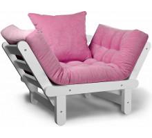 Кресло Сламбер розовый сосна