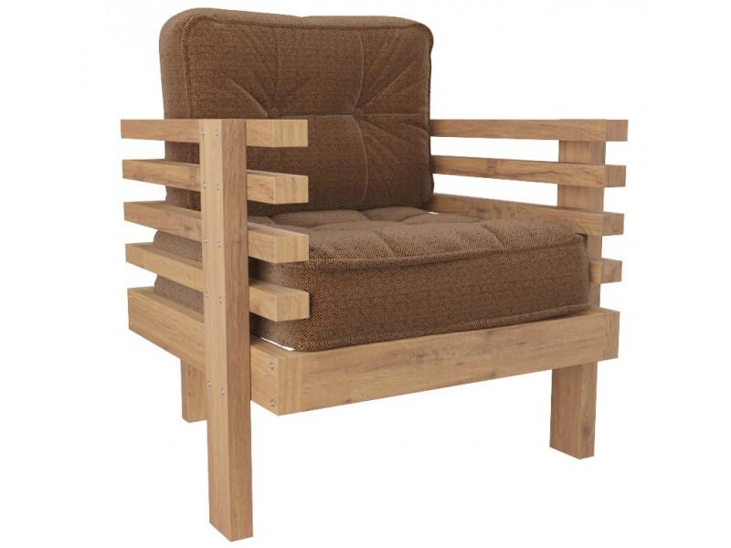Кресло Стоун коричневый сосна