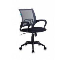 Кресло Бюрократ CH-695N темно-серый сетка/ткань