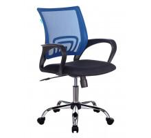 Кресло Бюрократ CH-695NSL синий/черный сетка/ткань