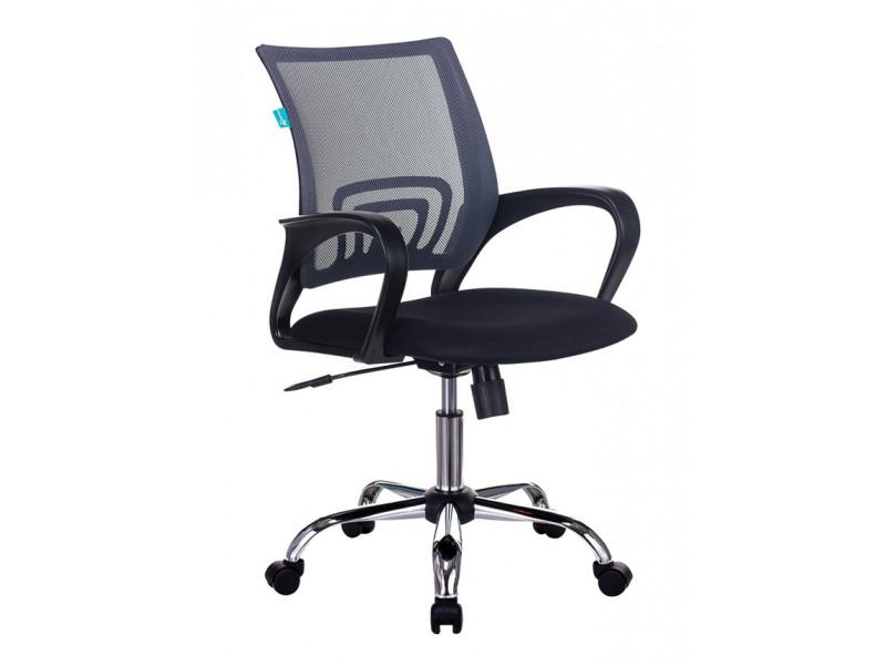 Кресло Бюрократ CH-695NSL темно-серый/черный сетка/ткань