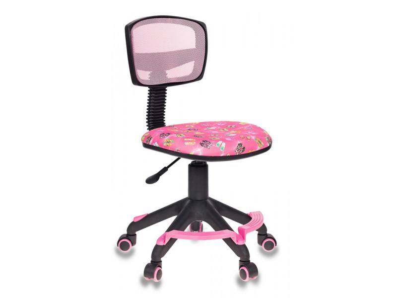 Кресло детское Бюрократ CH-299-F розовый сетка/ткань