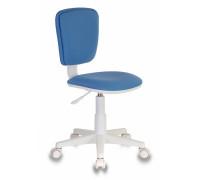 Кресло детское Бюрократ CH-W204NX голубой 26-24