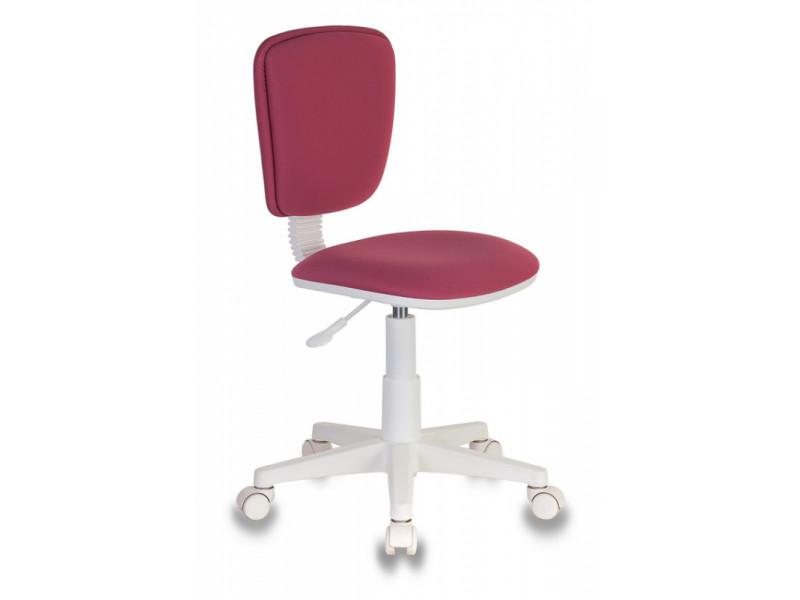 Кресло детское Бюрократ CH-W204NX розовый 26-31 пластик белый
