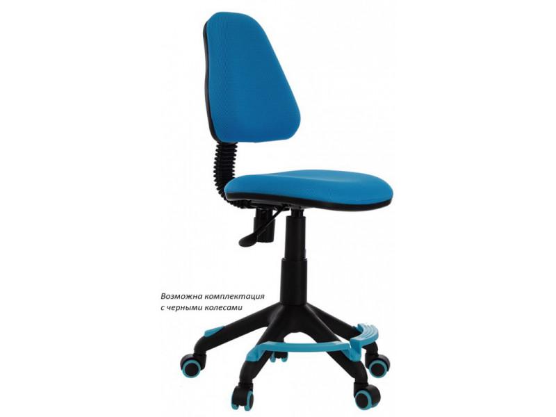 Кресло детское Бюрократ KD-4-F голубой