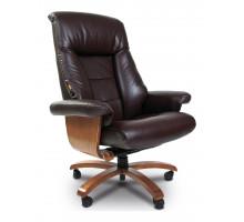 Кресло для руководителя Chairman 400 коричневый