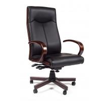 Кресло для руководителя Chairman 411 черный