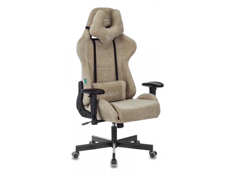 Кресло игровое Бюрократ VIKING KNIGHT Fabric песочный Light-21