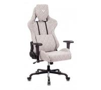 Кресло игровое Бюрократ VIKING LOFT серый ткань ромб
