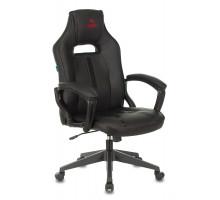 Кресло игровое Бюрократ VIKING ZOMBIE A3 черный искусственная кожа