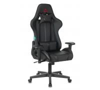 Кресло игровое Бюрократ VIKING ZOMBIE A4 черный искусственная кожа