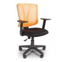 Кресло компьютерное Chairman 626 черный/оранжевый