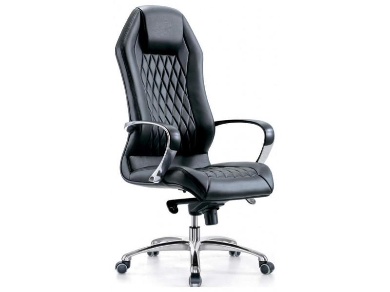 Кресло руководителя Бюрократ _AURA/BLACK черный
