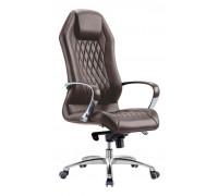 Кресло руководителя Бюрократ _AURA/BROWN коричневый