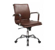 Кресло руководителя Бюрократ CH-993-LOW/BROWN коричневый