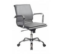 Кресло руководителя Бюрократ CH-993-LOW/GREY серый