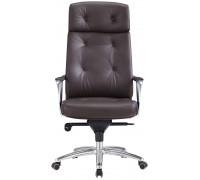 Кресло руководителя Бюрократ _DAO/BROWN коричневый