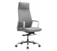 Кресло руководителя Бюрократ JONS серый ткань