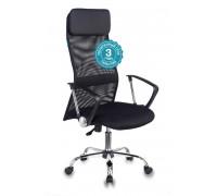 Кресло руководителя Бюрократ KB-6N черный