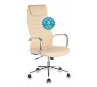 Кресло руководителя Бюрократ KB-9N/ECO/OR-12 бежевый искусственная кожа