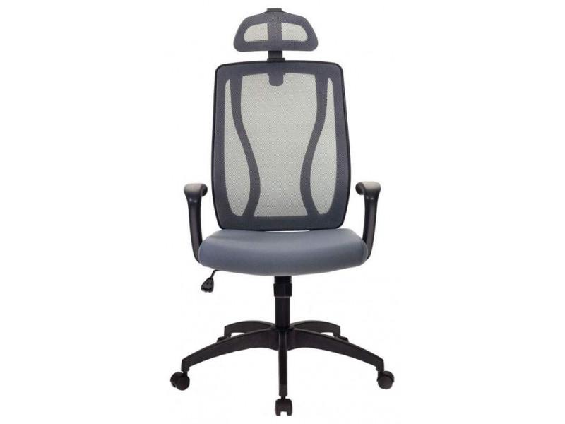 Кресло руководителя Бюрократ MC-411-H/DG/26-25 серый