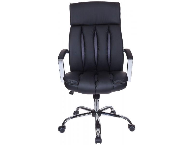 Кресло руководителя Бюрократ T-8000SL/BL+GR черный