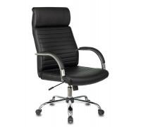 Кресло руководителя Бюрократ T-8010N черный искусственная кожа